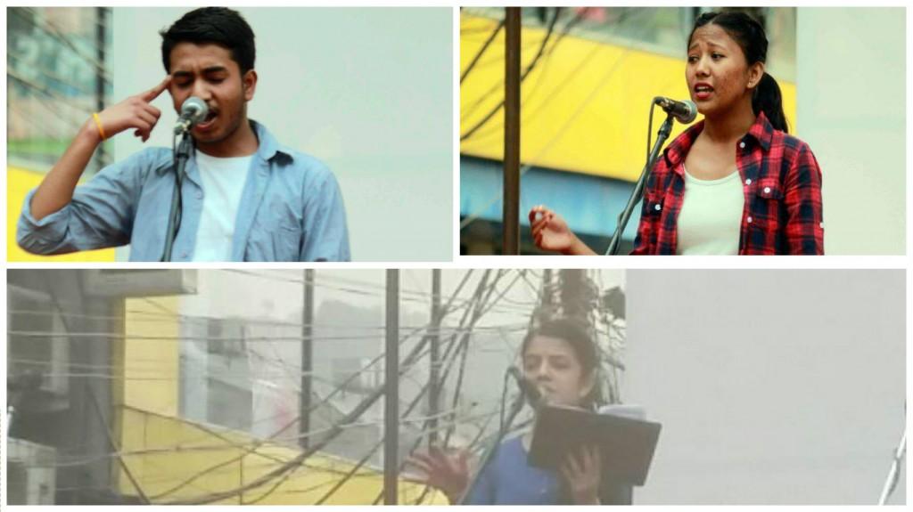 "Top Left: Suman Shah Top Right: Ashmeeta Sunar Bottom: Rojina Adhikari Photo Courtesy"" PRASAD and Kristina Gurung"